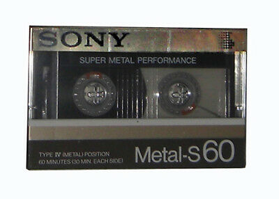 SONY Metal-S 60 cassette audio