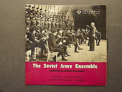 The Soviet Army Ensemble conducted by Colonel Alexandrev. Kalinka