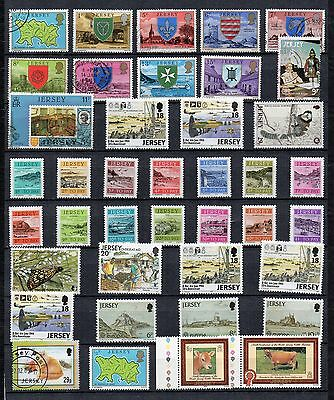 JERSEY Stamp Collection MINT USED Defins Commems POSTAGE DUES Ref:QG150a