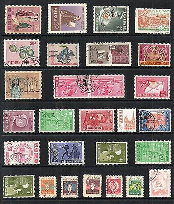 VIETNAM Asia  STAMP COLLECTION  Used Ref:QG147a