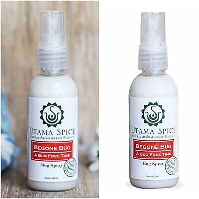 100% Natural Insect Mosquito Bug Spray Repellent 60ml Safe Children No Chemical