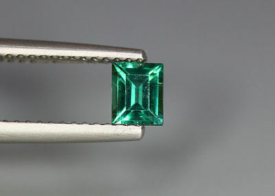 0.45 Cts_Simmering Ultra Nice Gemstone_100 % Natural Neon Green Apatite_Brazil
