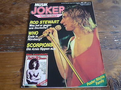 Joker 1979: Rod Stewart/Who/Elvis/Led Zeppelin/Peter Frampton/Ritchie Family