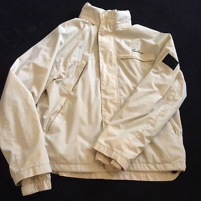 Mens THOMAS BURBERRY Cream Lightweight Summer/Casual Jacket Size S