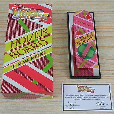 Back To The Future 1:5 Scale Hoverboard Official Replica BTTF NEW BOXED