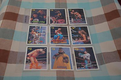 18 WWF / WWE Classic Trading Cards