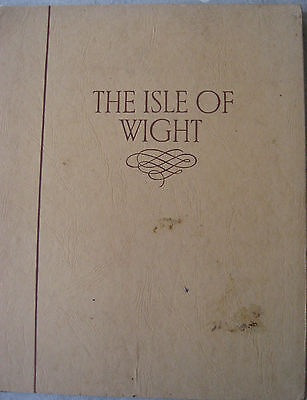 Book - The Isle of Wight - 33 Monochrome Photographic Plates - S.W.Colyer 1940