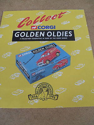 Corgi Golden Oldies Toy Catalogue 1996 Uk Edition Excellent Condition For Age
