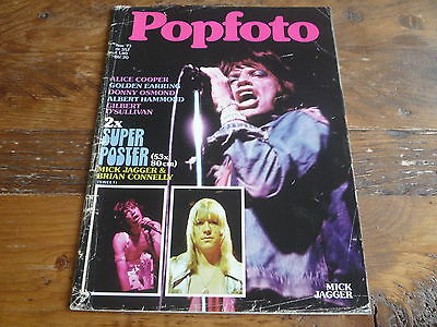 Popfoto 1973: The Rolling Stones / Alice Cooper / David Bowie / Paul McCartney
