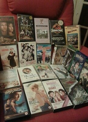 20 great movies job lot great list VHS video tapes