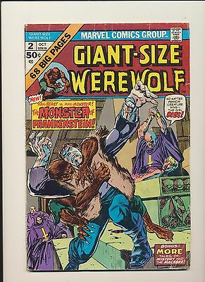Giant Size Werewolf #2 (Marvel Comics 1974)! SEE PICS AND SCANS! KEY BOOK! WOW!