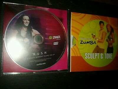 ZUMBA Fitness DVDs X 2