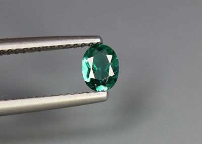 0.37 Cts_Simmering Ultra Nice Gemstone_100 % Natural Neon Green Apatite_Brazil