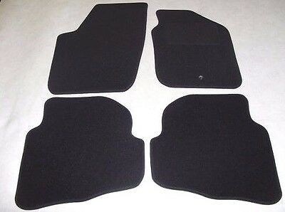 VW Fox 2006-onwards. Fully Tailored Deluxe Car Mats in Black