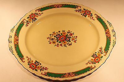 Vintage Oval Grindley Small Bread Serving Platter Plate #42 Excellent Condition