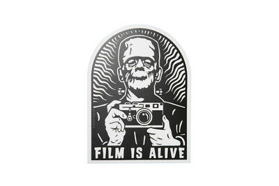 Film Is Alive - Photography Sticker