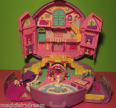Polly Pocket Mini ♥ Polly's Wonderful Wedding Party ♥ 100% complete ♥ ♪ Musik ♫
