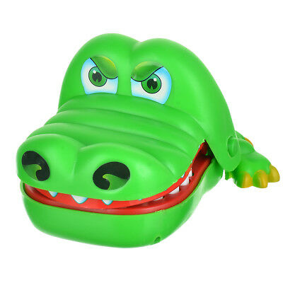 Large version of the fun tiny biting Crocodile Dentist Desktop Mechanical Toy
