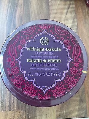 The Body Shop Midnight Bakula Body Butter Rare/Discontinued 200ml