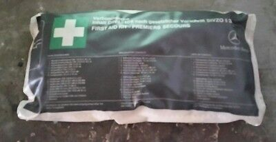 Vintage Classic Collectable Mercedes W140 W124 S500 First Aid Kit Din 13164