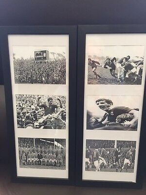 Llanelli Scarlets V New Zealand 1972 rugby WALES two display prints