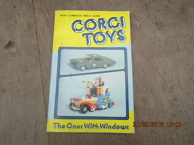 Corgi Toys Price Guide  The Ones With Windows Vintage Book