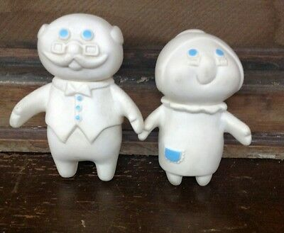 Vintage Pillsbury DOUGHBOY 1974 GRANDMA & GRANDPA Collectible Kitchen Baking
