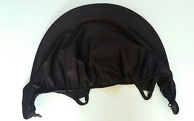 Genuine Maxi Cosi Cabriofix Replacement Spare Wind Sun Canopy Shade Hood Black