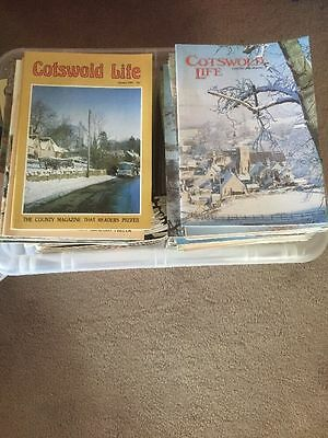Job Lot of Cotswold Life Magazines