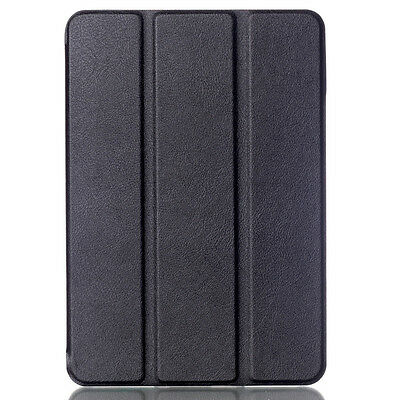 Folio Wake Sleep PU Leather Case Cover Stand For Samsung Tab iPad Kindle Fire HD