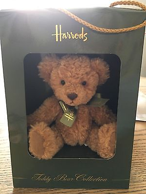 Cute Harrods Small Teddy Bear In Original Box Easter Present