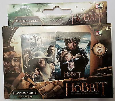 Hobbit Five Armies Playing Cards Double Deck