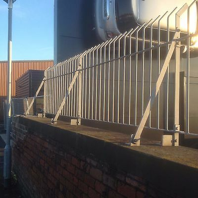 Wrought Iron Railings / Wall Toppers / Driveway / Garden / Patio / Metal Fence