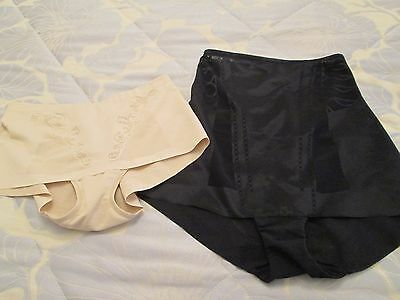 Mixed bundle 2 size 12 control underwear/pants/spanx etc