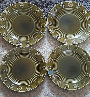 Vintage Lord Nelson Pottery Plates and Side Plates