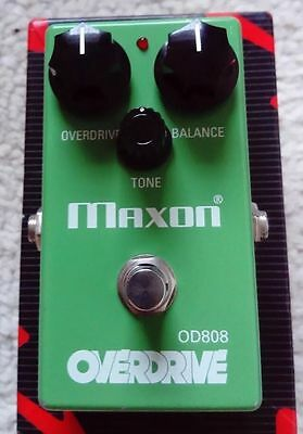Maxon OD808 Overdrive Guitar / Tube Screamer