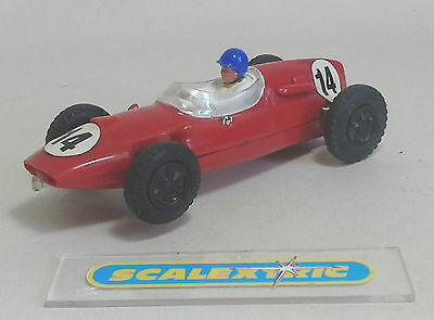 SCALEXTRIC Tri-ang Vintage 1960's COOPER CLIMAX #14 C58 (STRONG MOTOR) RED