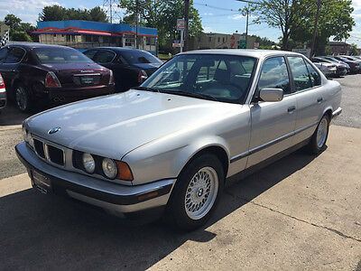1994 BMW 5-Series Base Sedan 4-Door 530 project wholesale clean cheap v8 e34 parts rare luxury trade in
