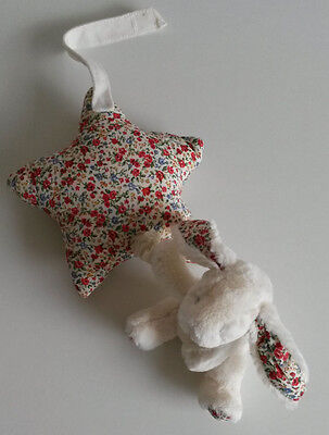 Little Jellycat Rabbit Musical Star Soft Toy 2434