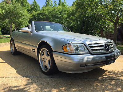 2000 Mercedes-Benz SL-Class  low mile free shipping warranty sl500 sport hardtop clean carfax cheap collector