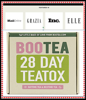 Bootea 28 Day Teatox New, Genuine, Original Daytime and Bedtime Tea, Weight Loss