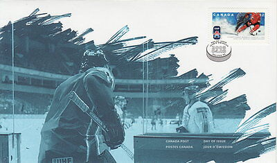 Canada #2265 52¢ Iihf World Championship First Day Cover - A