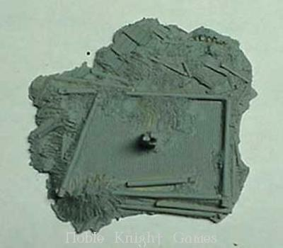 Monday Knight Prod Resin Terrain 15mm Beresina - Dismantled Building Pack MINT