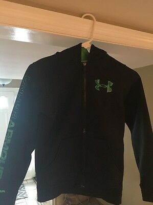 Boys Under Armour Zip Up Hoodie Youth Small