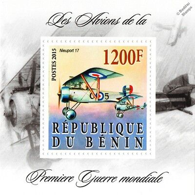 NIEUPORT 17 C.1 WWI French Sesquiplane Fighter Aircraft Stamp
