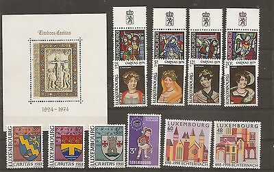 lot de timbres LUXEMBOURG NEUF