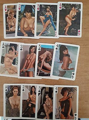 Men's Vintage World Beauty Glamour Playing Cards