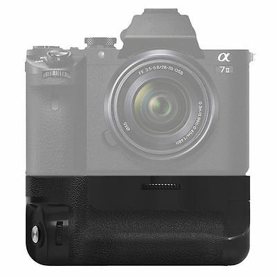 Vertical Battery Grip for Sony NEX A7 II A7R II  A7M2 As VG-C2EM Camera NP-FW50