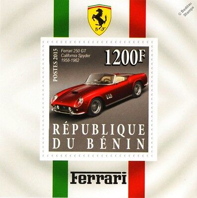 1958-1962 FERRARI 250 GT California Spyder Sports Car Stamp