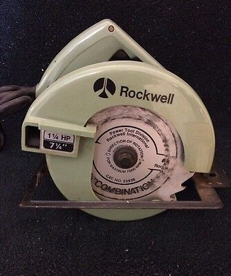Vintage Porter Cable Rockwell CIrcular Saw